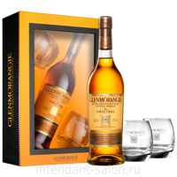 Виски Glenmorangie Original with 2 glasses in gift box 0,7