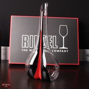 декантер riedel black tie smile red 2