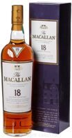 Виски Macallan Triple cask 18 Y.O. gift box 0.7 л.