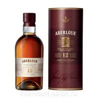 Виски Aberlour Single Malt 12 years 0,7 Tube