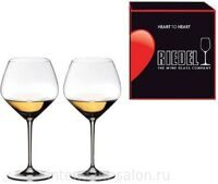 "Набор бокалов 2 шт. Riedel ""Heart to Heart"" Chardonnay 670 ml"