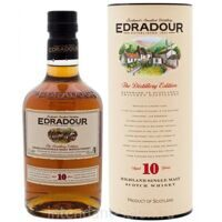 Виски Edradour Single Malt 10 years 0,7 Tube