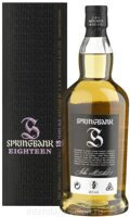 Виски Springbank 18 Years Single Malt 0,7 Gift Pack