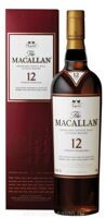 Виски Macallan Sherry Oak 12 Years Old gift box 0.7