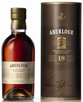Виски Aberlour Single Malt 18 years 0,7 Tube