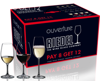 "Набор бокалов 12 шт. Riedel ""OUVERTURE"" Pay 9 Get 12"