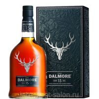 Виски Dalmore Single Malt 15 years 0,7 Gift Box