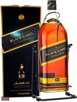 "Виски Johnnie Walker ""Black Label"" with box swing 4.5 л"