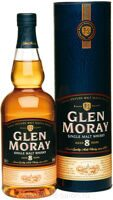 Виски Glen Moray 8 years 0.7 Tube