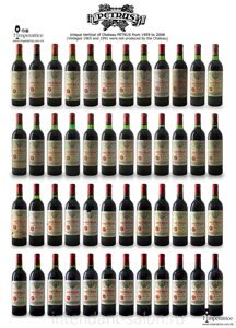 Petrus Vertical Collection 1959-2008